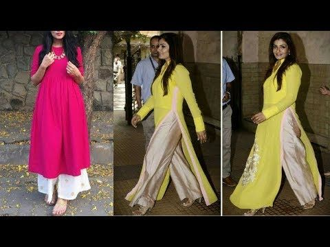 2887acef68 Long Kurti With Palazzo Ideas For Office Wear || Plazo Kurti Designs For Daily  Wear SS2018 - YouTube