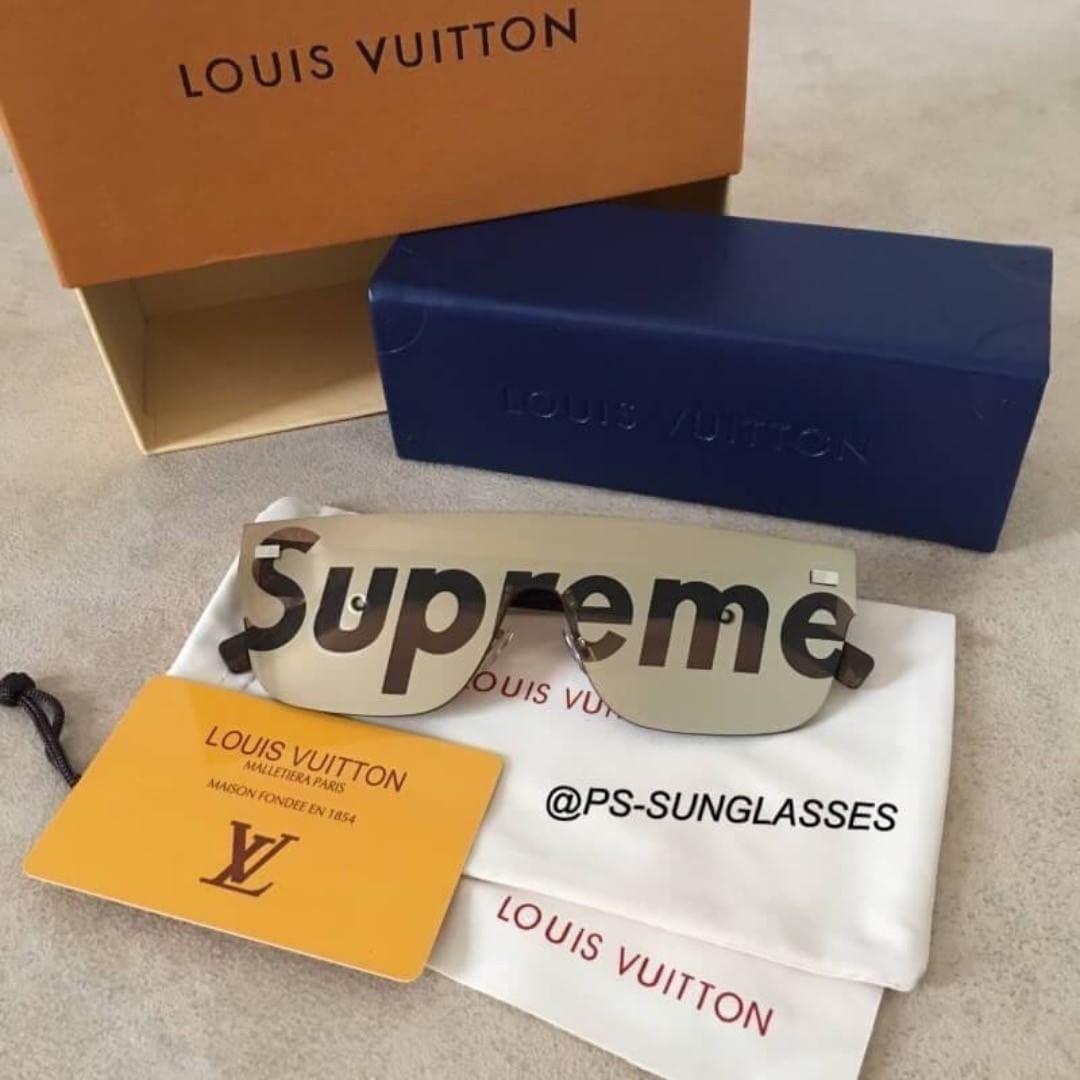 ee8b90b7a9 พร้อมส่ง Louis Vuitton X Supreme City mask งาน Top mirror