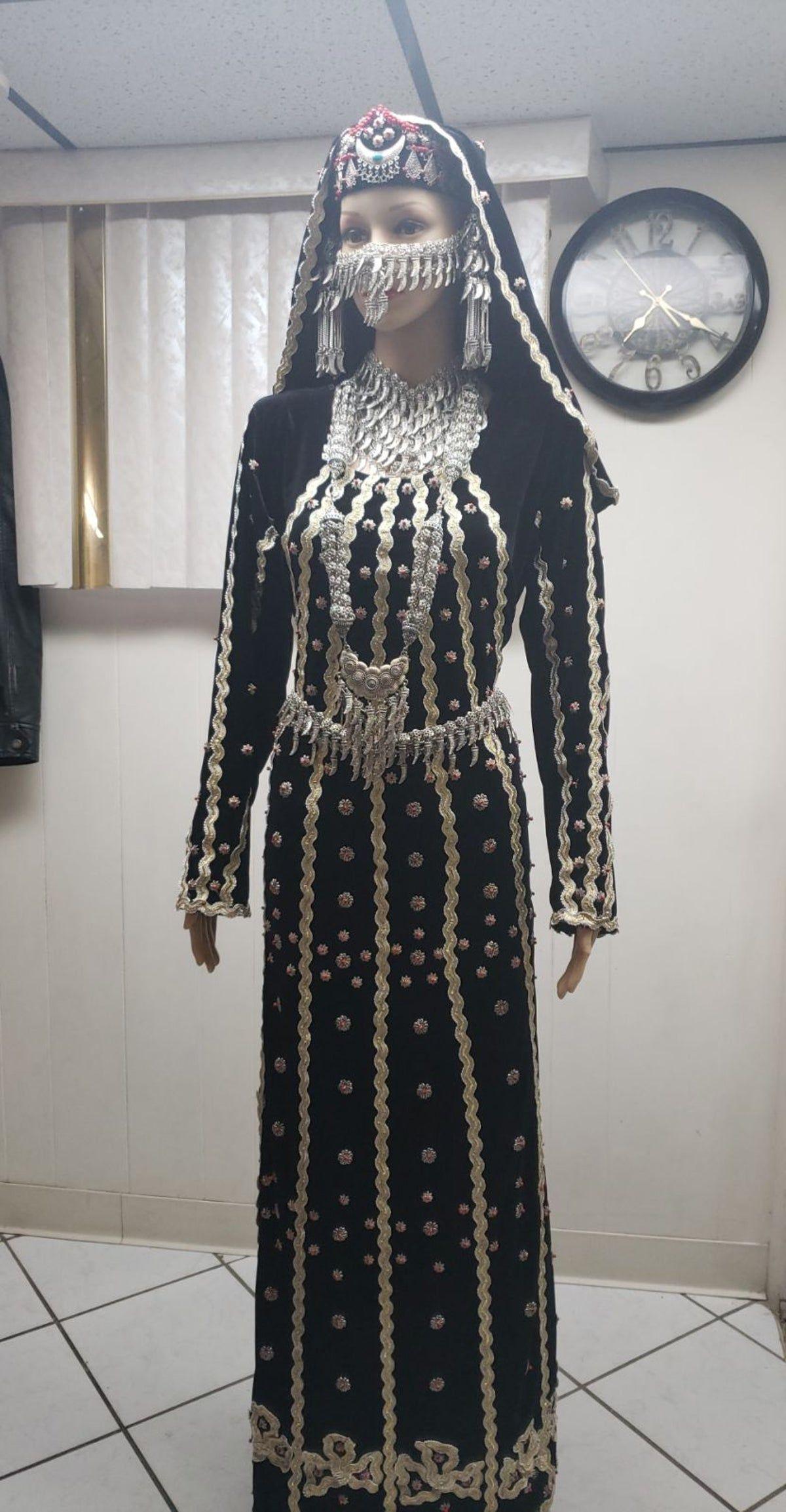 Yemeni Traditional Dress Dresses Yemeni Clothes Afghan Dresses