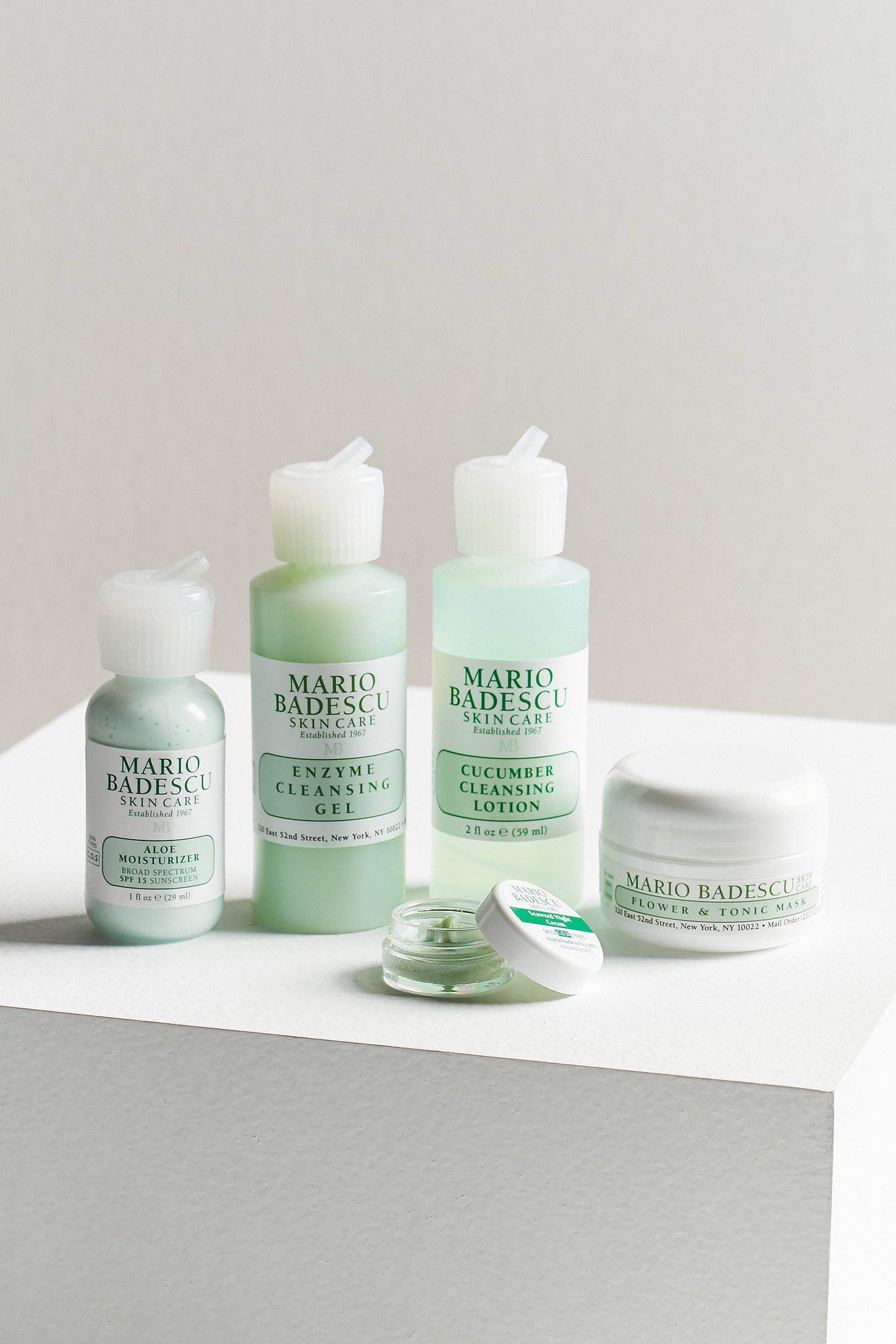 Mario Badescu Combo Oily Regimen Kit Mario Badescu Aloe Moisturizer Skin Care