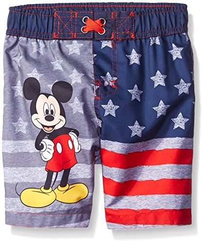 55d6393a98 Disney Boys Mickey American Flag Swim Trunk ** Check this awesome product  by going to the link at the image.
