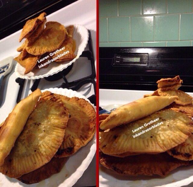 Boyfriend made empanadas