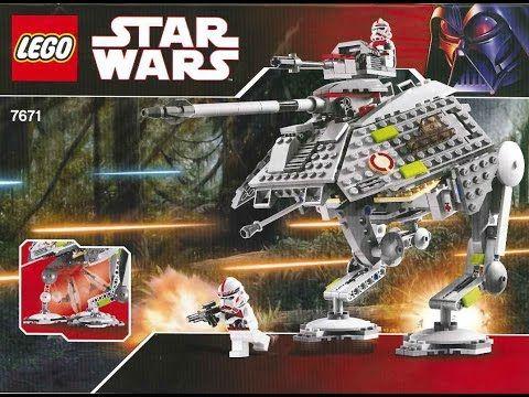 Lego 7671 Star Wars At Ap Walker Instruction Manual Legos