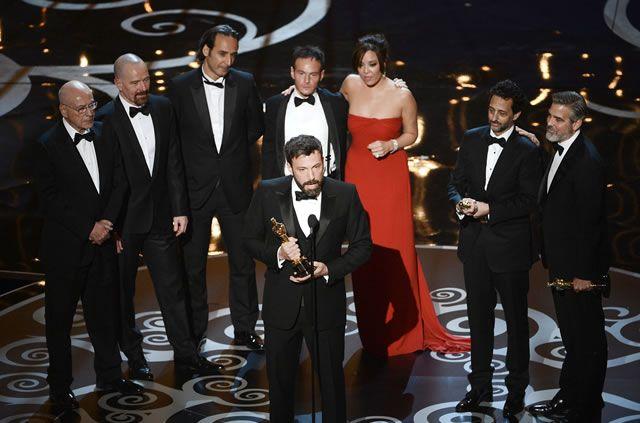 El momento de la victoria de los ganadores al Oscar