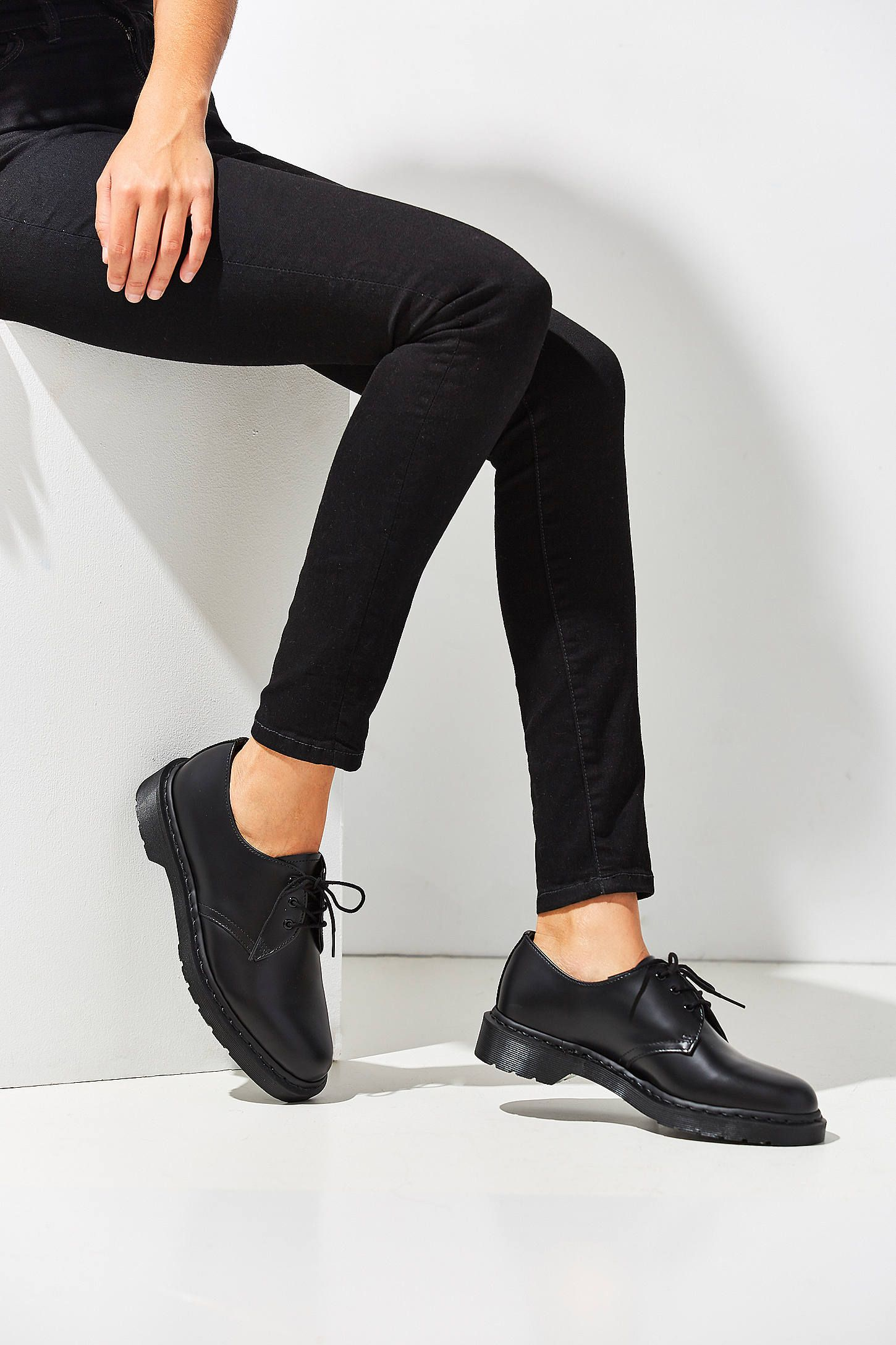 318603efcc Shop Dr. Martens 1461 Mono 3-Eye Oxford at Urban Outfitters today. We carry  all the latest styles