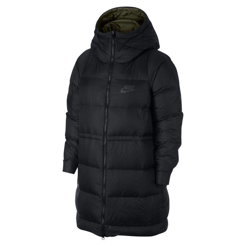 e6590488 Nike Sportswear Women's Reversible Down-Fill Jacket - Black ...