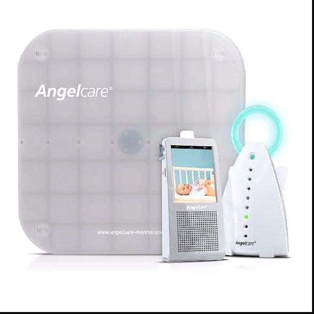 Angelcare Baby Monitor With Sound And Wireless Sensor Pad Ac117 Baby Breathing Monitor Breathing Monitor Sound Monitor