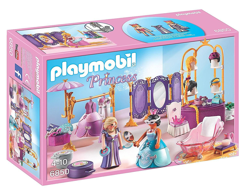 Playmobil 6850 Princesse Vestiaire Avec Salon Playmobil Play Mobile Playmobil Figuren
