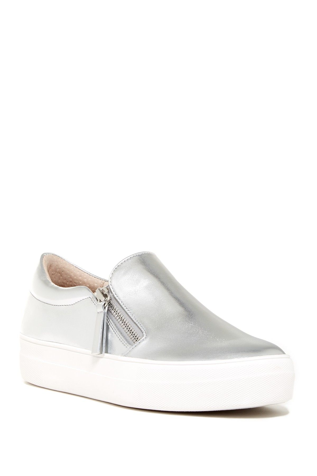 7327e9f02e7 Steve Madden Glaammar Zip Embossed Sneaker | Products | Sneakers ...