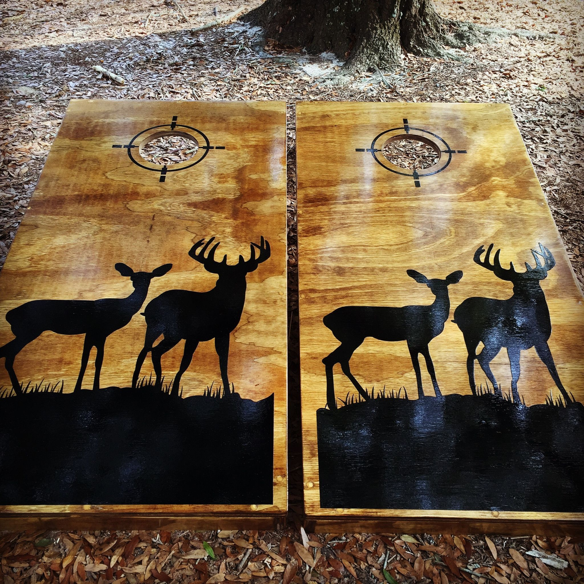 corn hole board designs ideas deer hunting and bow fishing