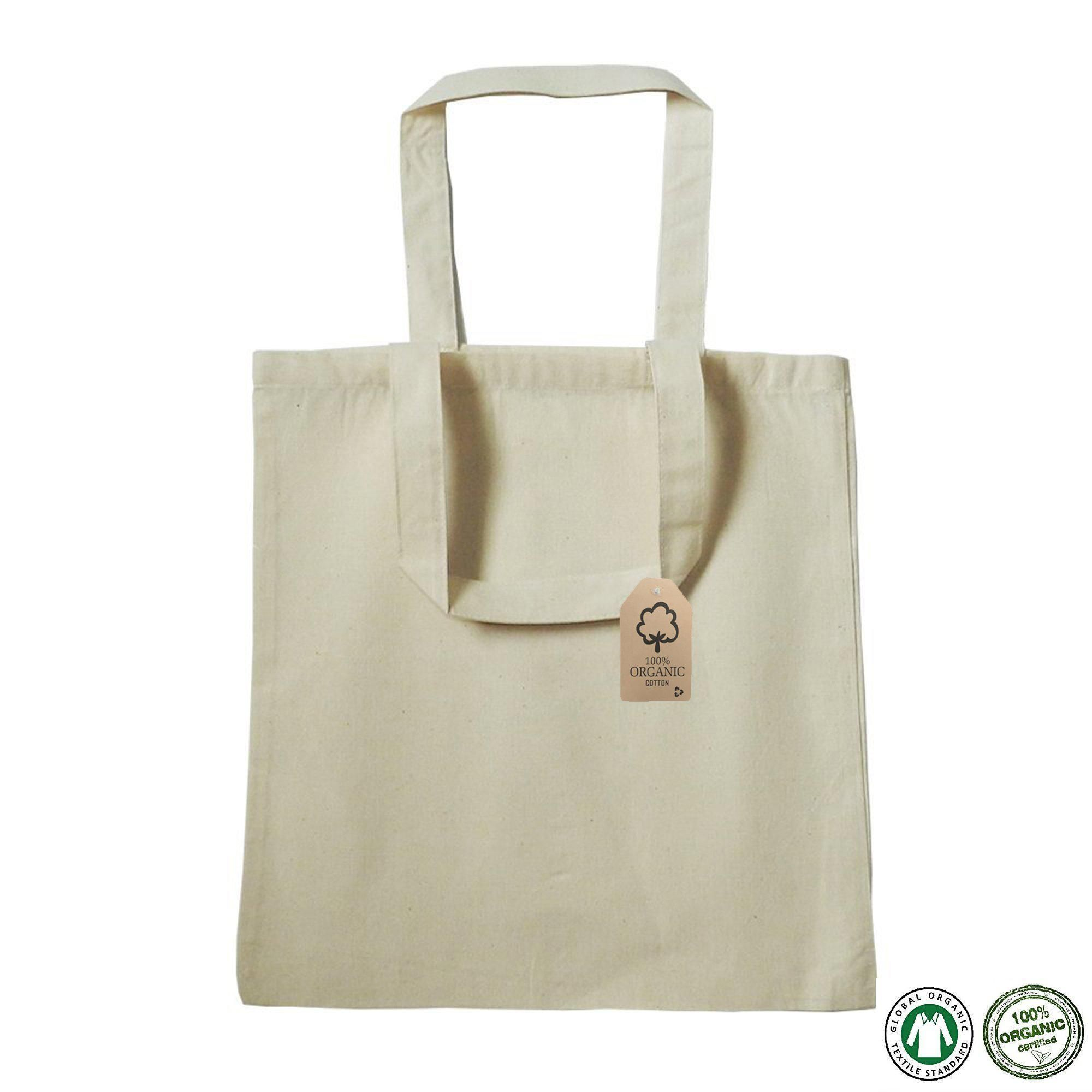 Certified Organic Cotton Tote Bags Wholesale Organic