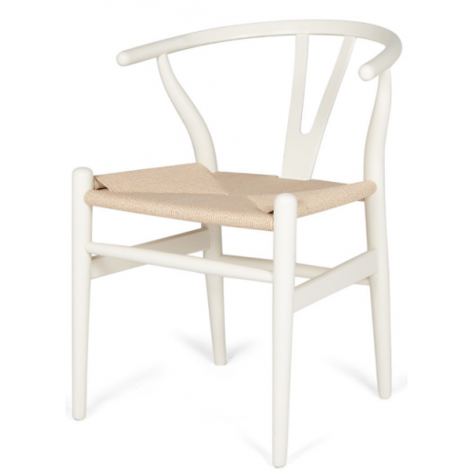 Wishbone Chair White Dining Chairs Seating Seating