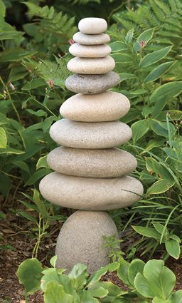 A Cairn Composed Of Stacked Stones Is Often Found On