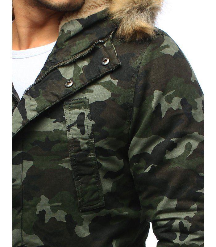 f01631e1e Pánska zimná maskáčová bunda | Pánske bundy