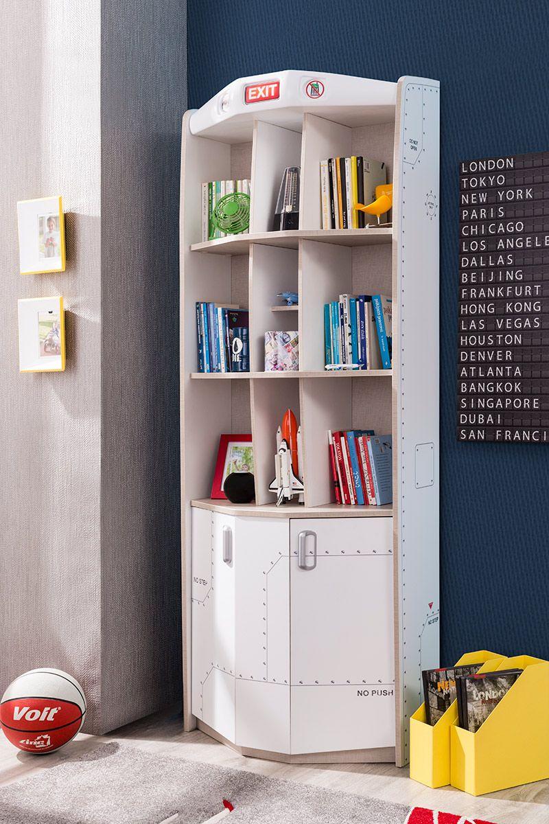 First Class Airplane Bookcase Locker storage, Bookcase
