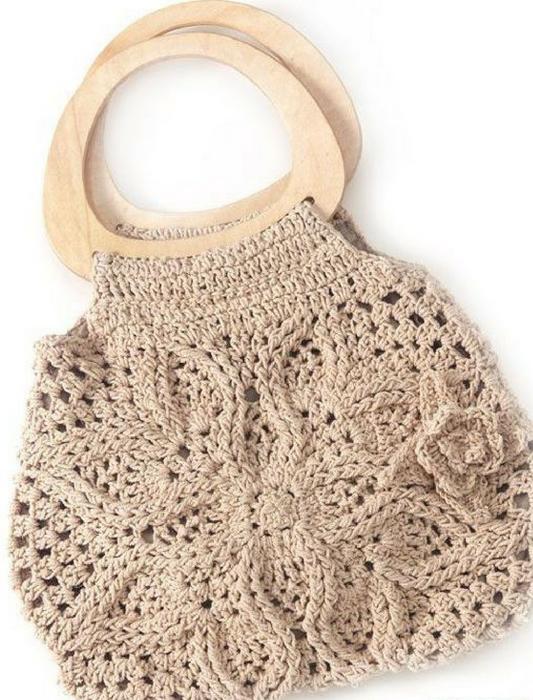 Bolsa en crochet Tatiana (Patrón) | Chocolates | Pinterest | Bolsa ...
