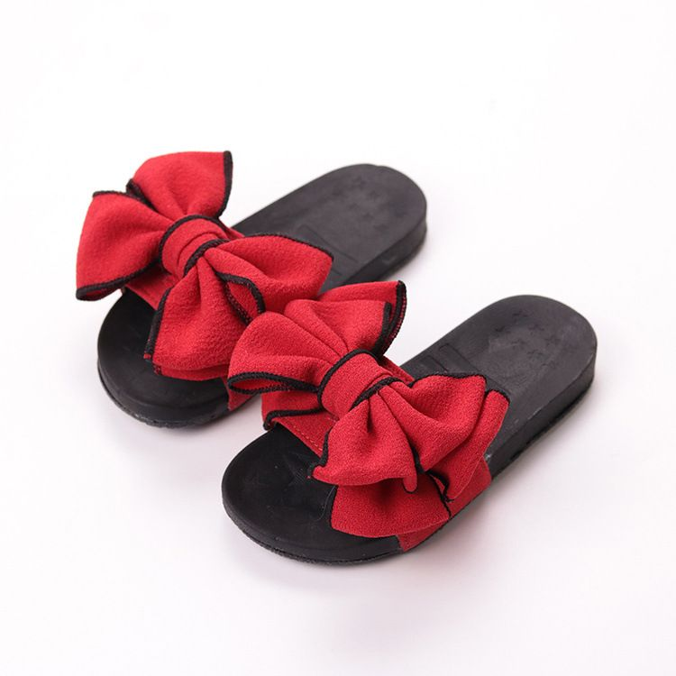 Shoes With Bow flip flops