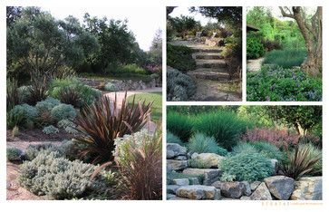 Rustic Ramble (from Strata Landscape Architecture via Houzz)