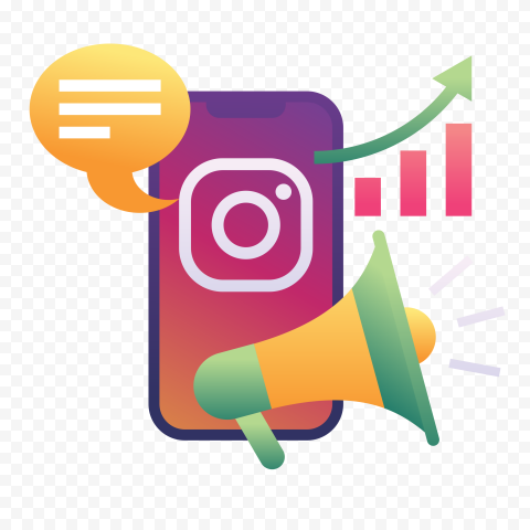 Instagram Social Media Marketing Illustration Social Media Marketing Instagram Instagram Logo Social Media Instagram