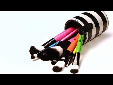 10 pc pop art brush set makeup brushes bh cosmetics
