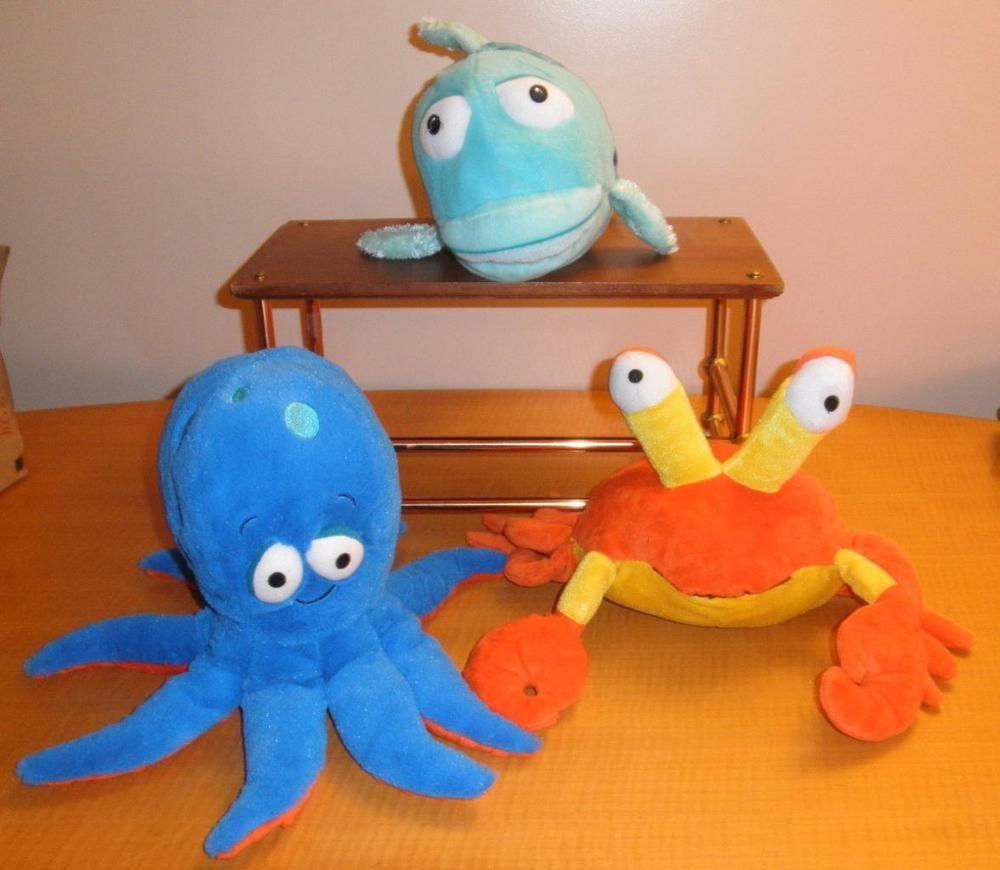 kohls cares for kids crab u0026 octopus u0026 the pout pout fish plush