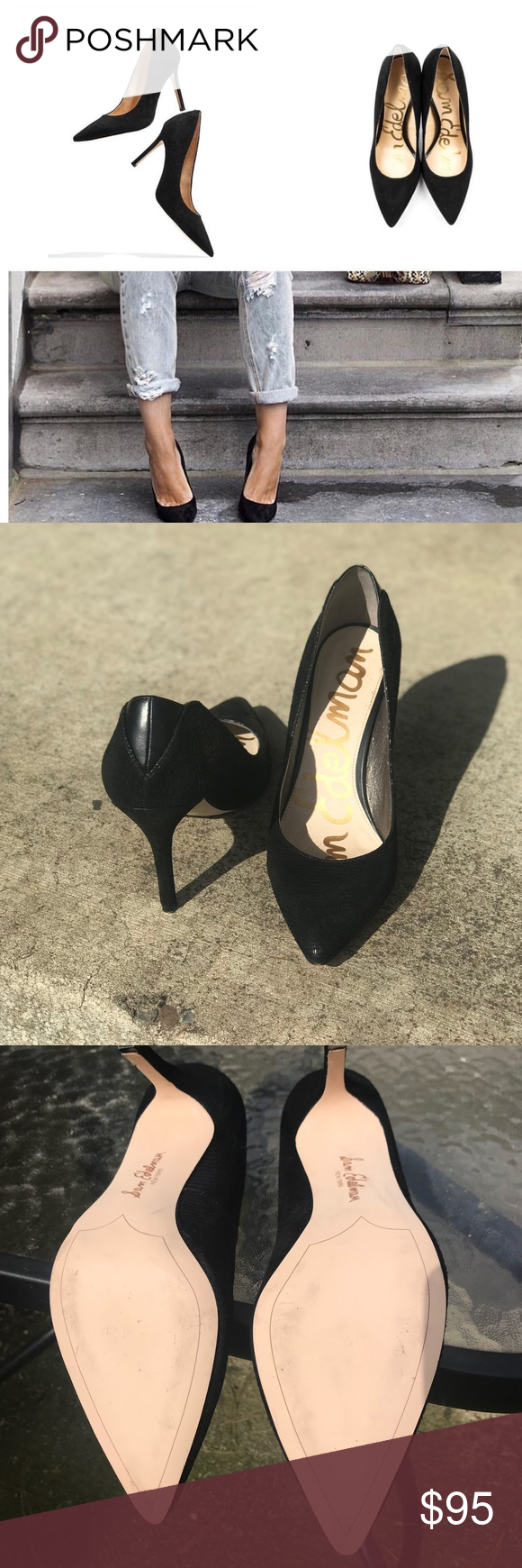 ab6cc9c17be Sam Edelman Hazel Pointy Toe Pumps NWOT tried on in the store and around  the house