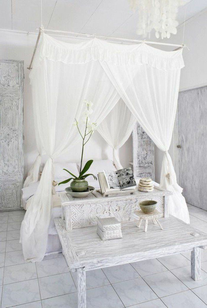 1001 designs uniques pour une ambiance cocooning pinterest voile ambiance et gris. Black Bedroom Furniture Sets. Home Design Ideas