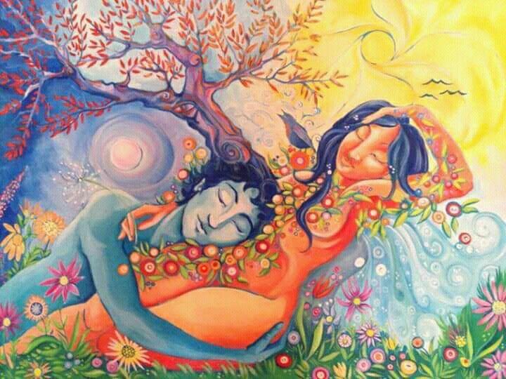 Amor real, paz | Sagrado masculino, Ilustrações, Arte psicodélica