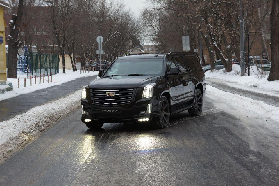 Nadoela Eta Zima Bortzhurnal Cadillac Escalade Vip 2016 Goda Na
