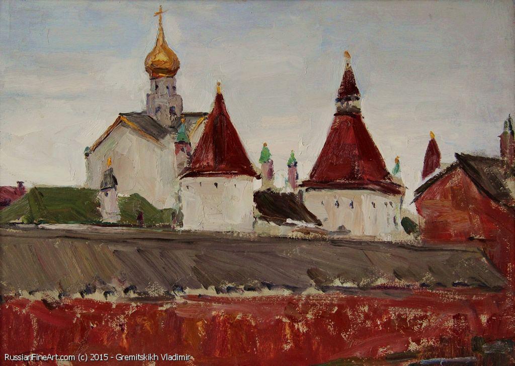 http://www.russianfineart.com/catalog/prod?productid=22281 Rostov Velikiy Kremlin - oil, cardboard  Russian Painter: Gremitskikh Vladimir  http://www.russianfineart.com/gremitskikh