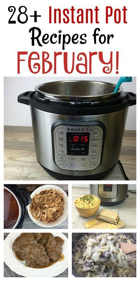 Favorite Instant Pot Recipes for February!