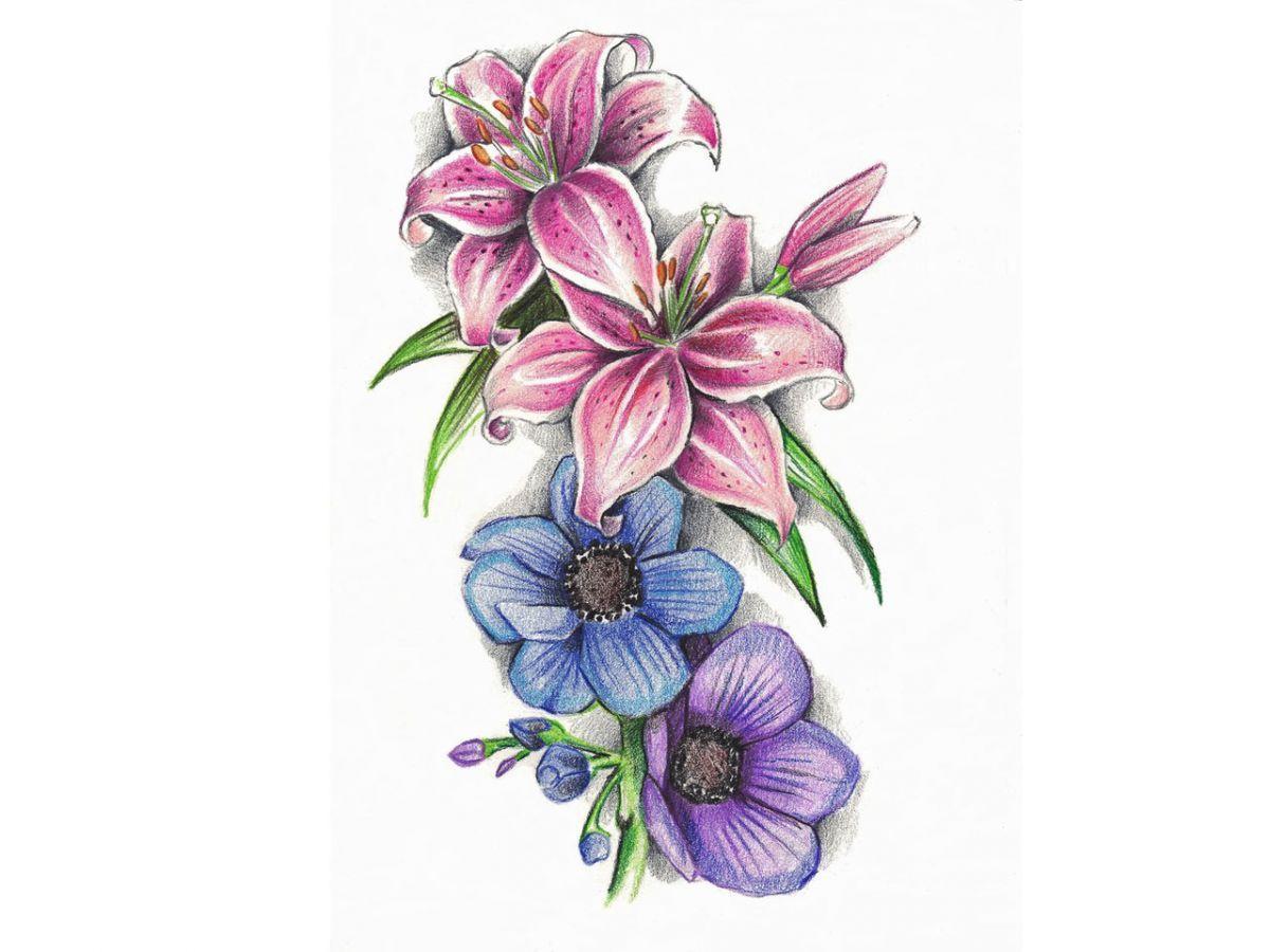 Image result for violet tattoo outline Tattoos Pinterest
