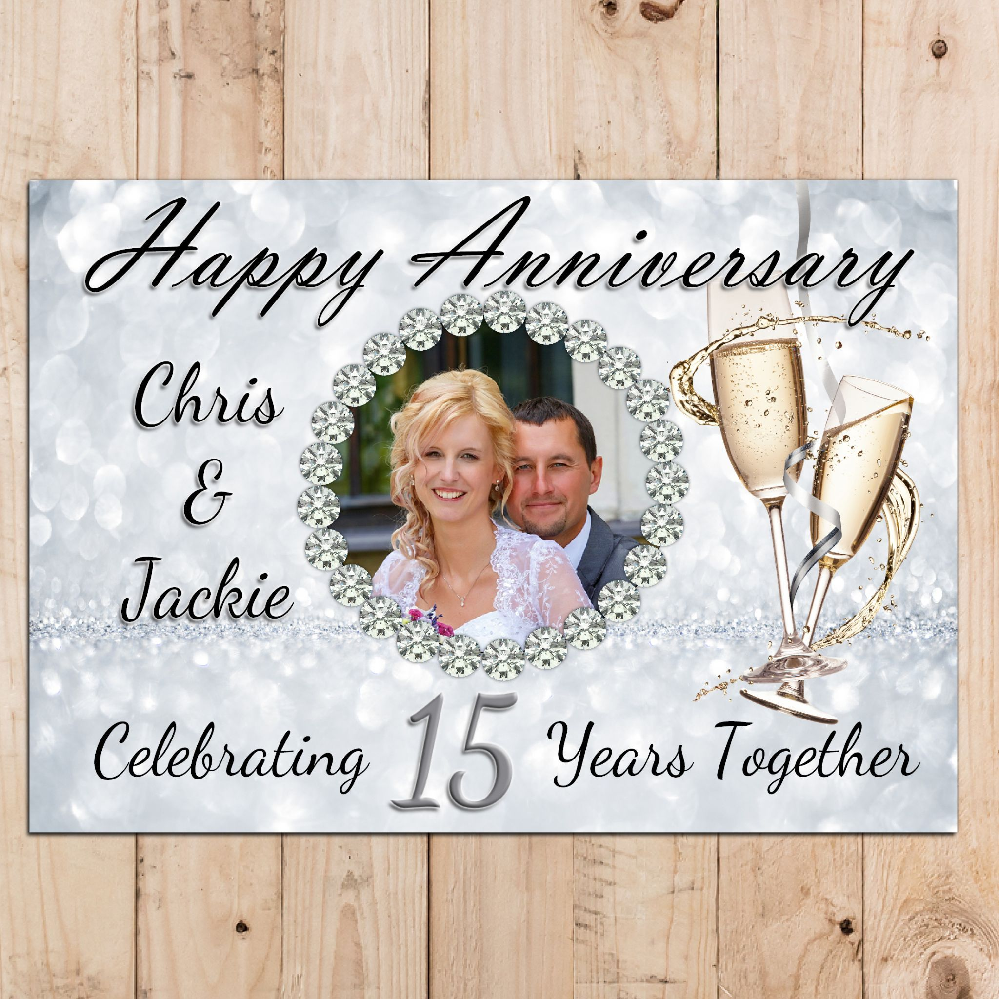 Personalized Wedding Anniversary Banners In 2020 Anniversary Banner Personalised Wedding Banner Wedding Anniversary