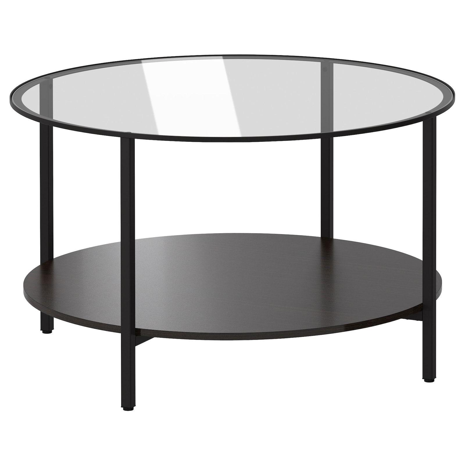 Vittsjo Black Brown Glass Coffee Table 75 Cm Ikea Ikea Coffee Table Glass Coffee Table Coffee Table [ 1600 x 1600 Pixel ]