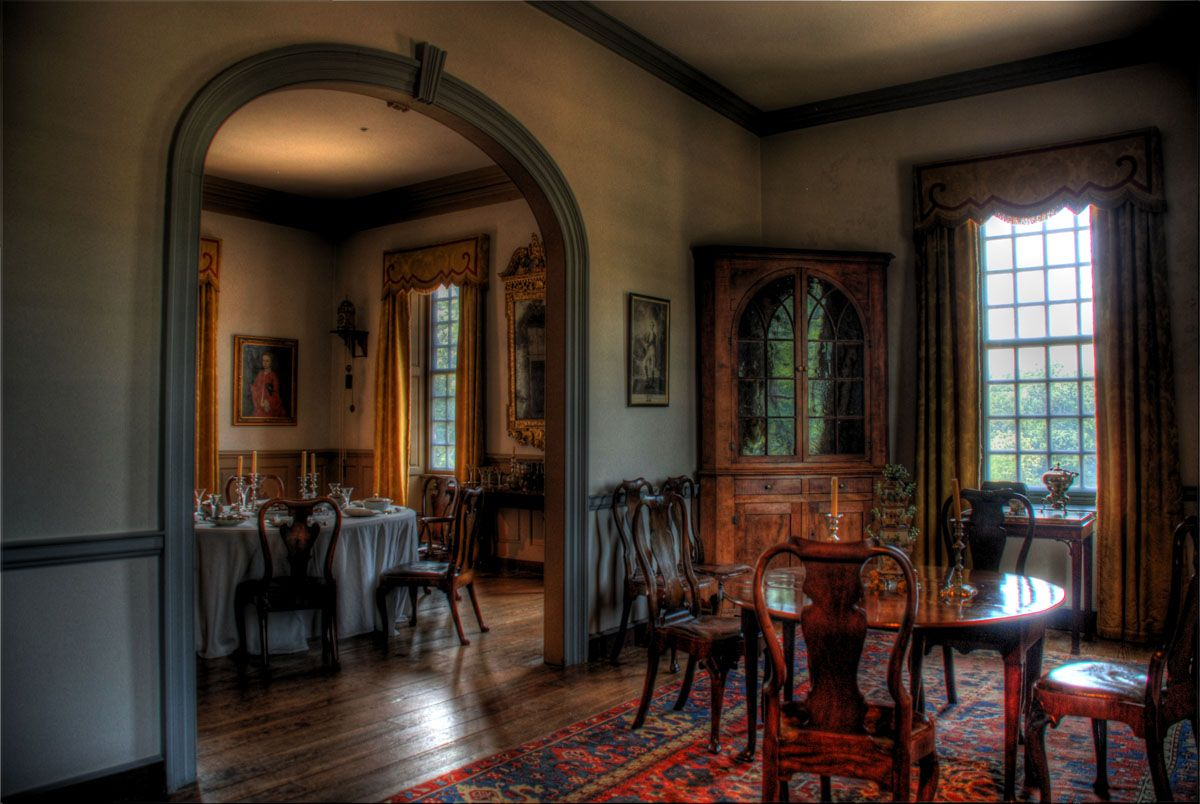 Plantation Interiors Photos Stratford Hall Plantation Dining Room Plantation Interiors