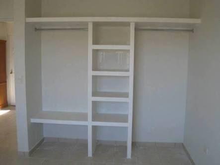 Closet de concreto
