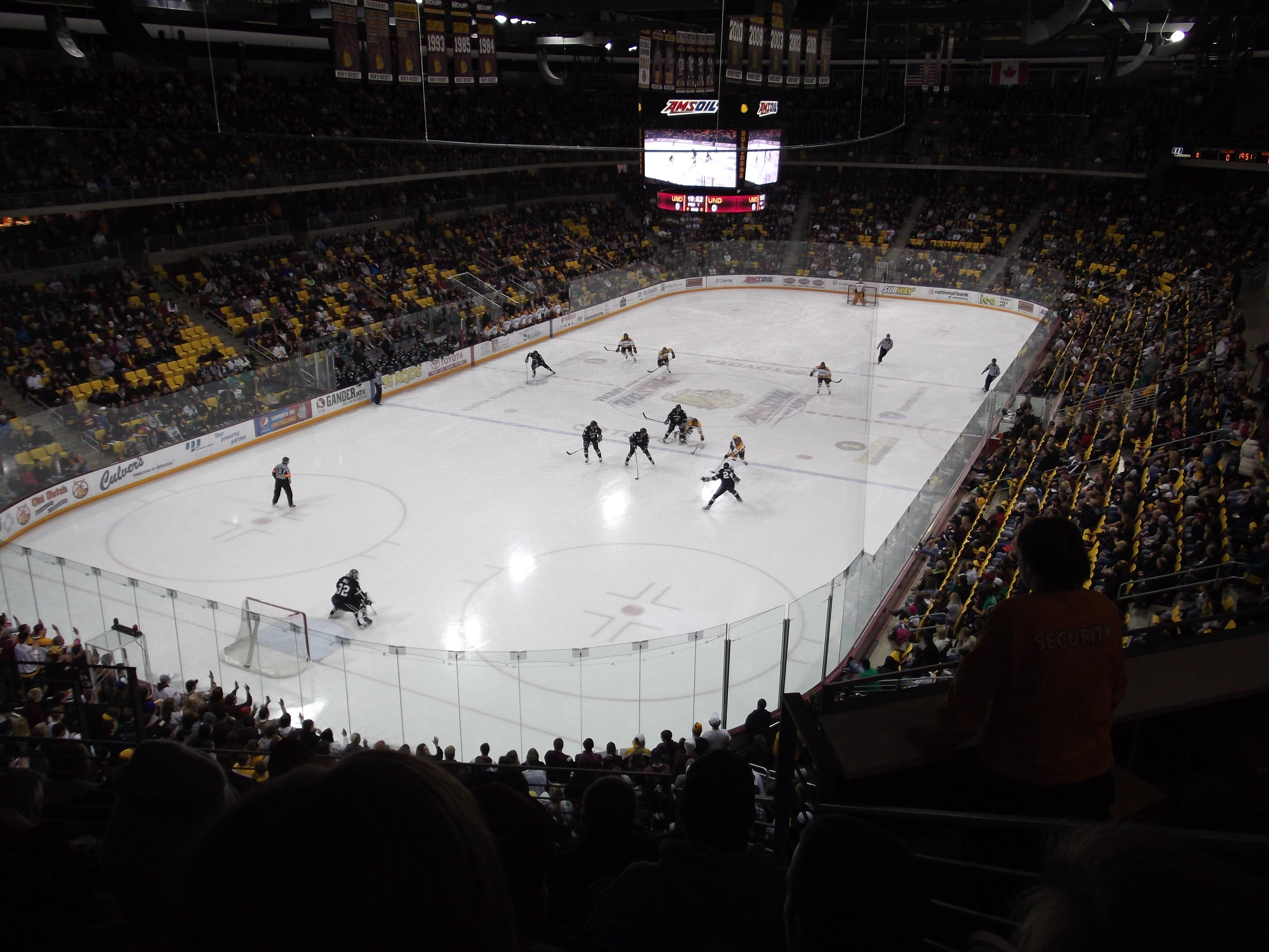 Amsoil Arena In Duluth Mn Great Hockey Venue Duluth
