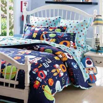 SOLD OUT !!! Kid's Bed Sheet : Glow Blue Appolo  open order  Whatsapp  +6283815102846 +6287870575700  BBM 75CB0E86