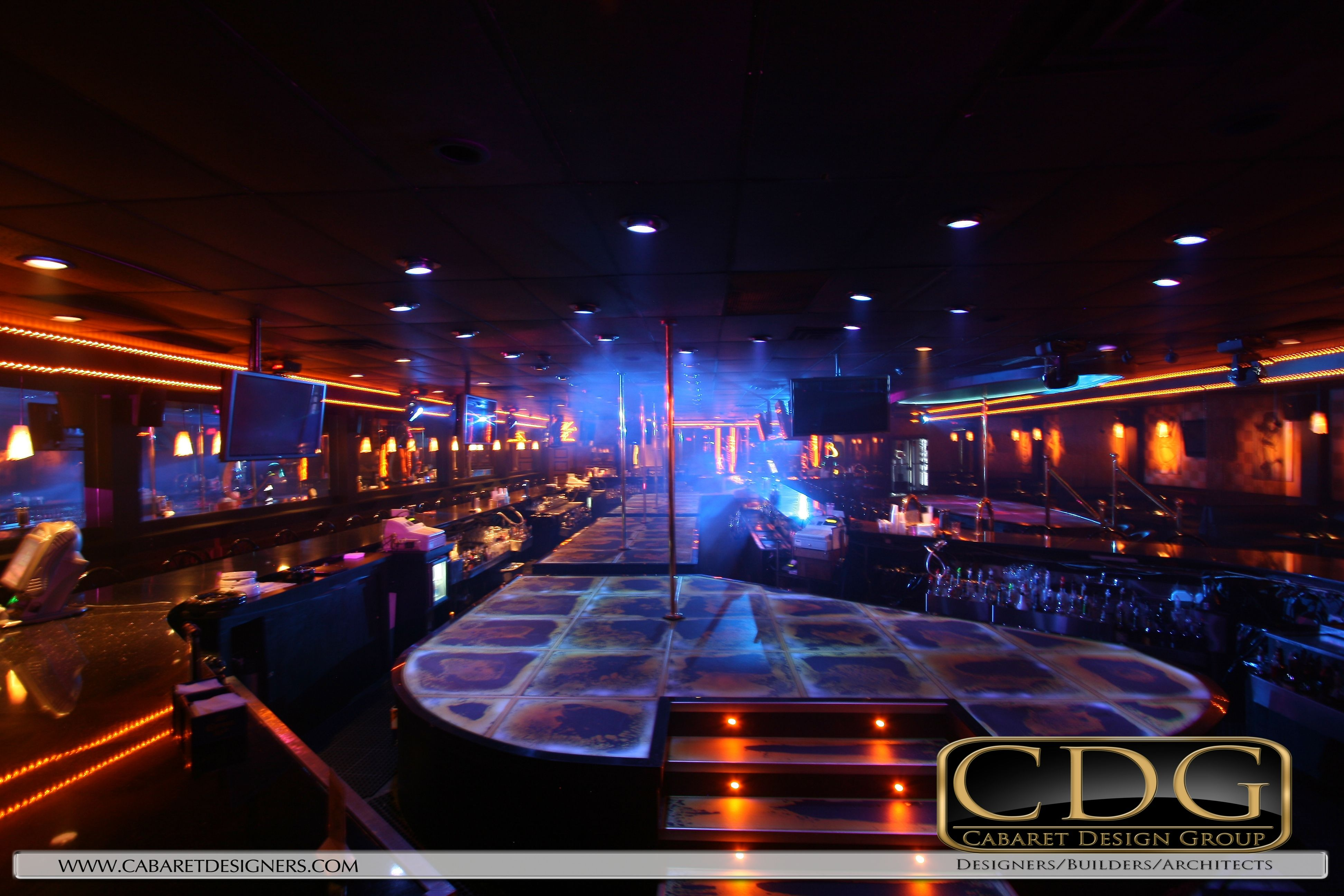 gentlemens #club #stage and #interior #design by @RickOfClubs ...