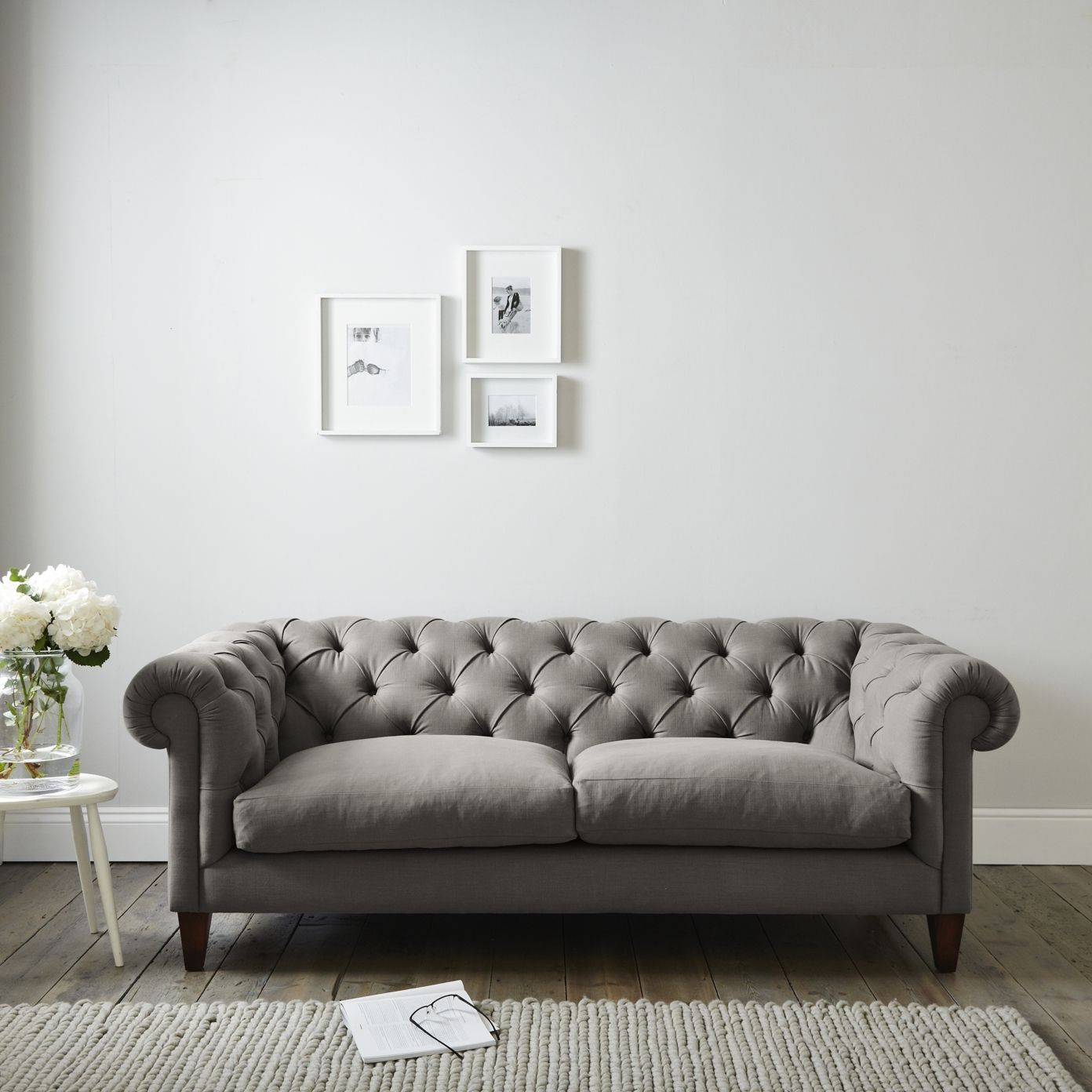 Large Hampstead Sofa Cotton The White Company Final Living - Hampstead furniture