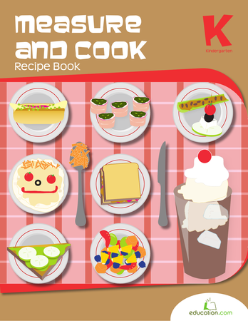 measure and cook recipe book education cooking classes for kids preschool cooking kids meals. Black Bedroom Furniture Sets. Home Design Ideas