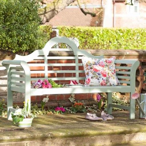 A classic bench in a pretty colour notcutts.co.uk Lutyens bench £299 ...