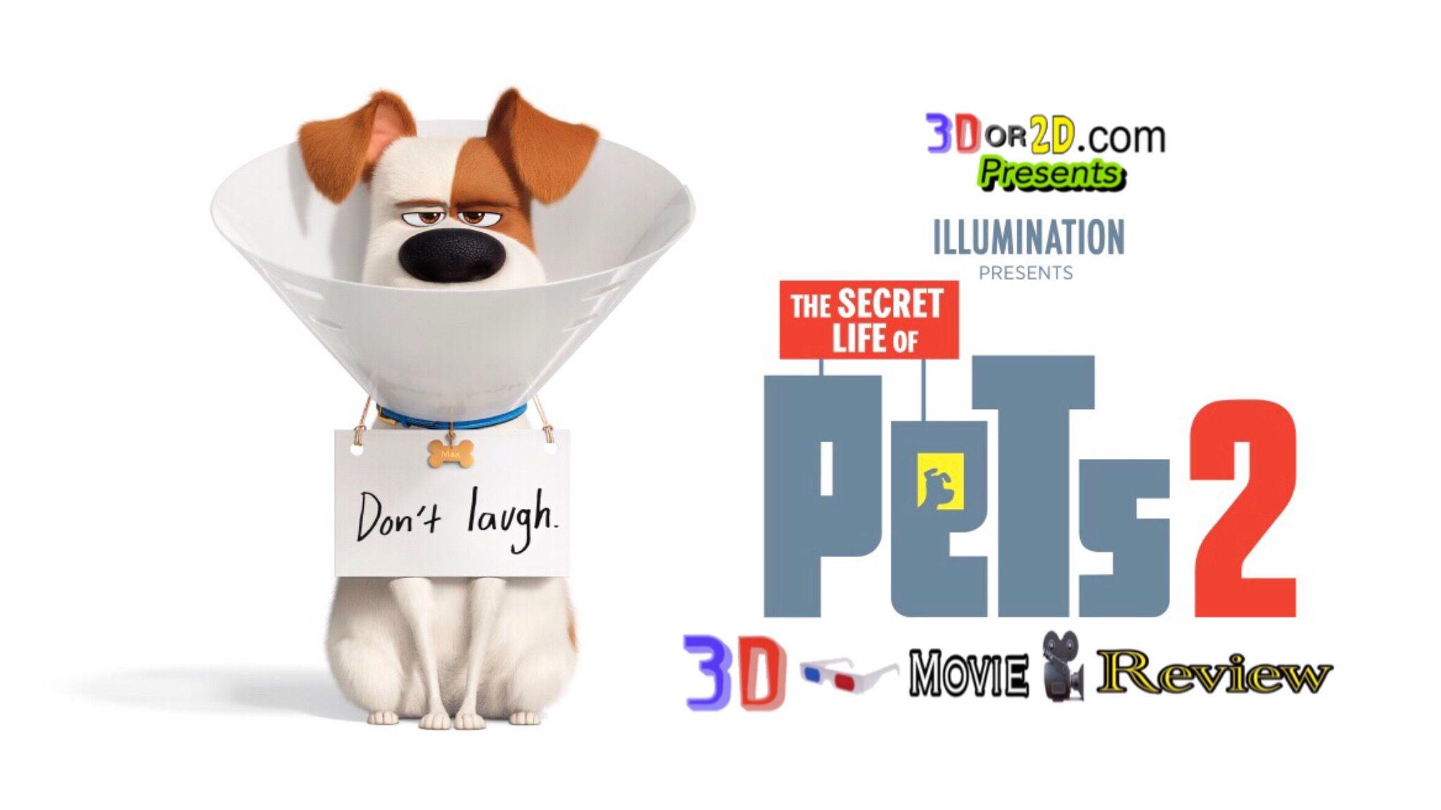 The Secret Life Of Pets 2 3d Movie Review Secret Life Secret Life Of Pets English Movies