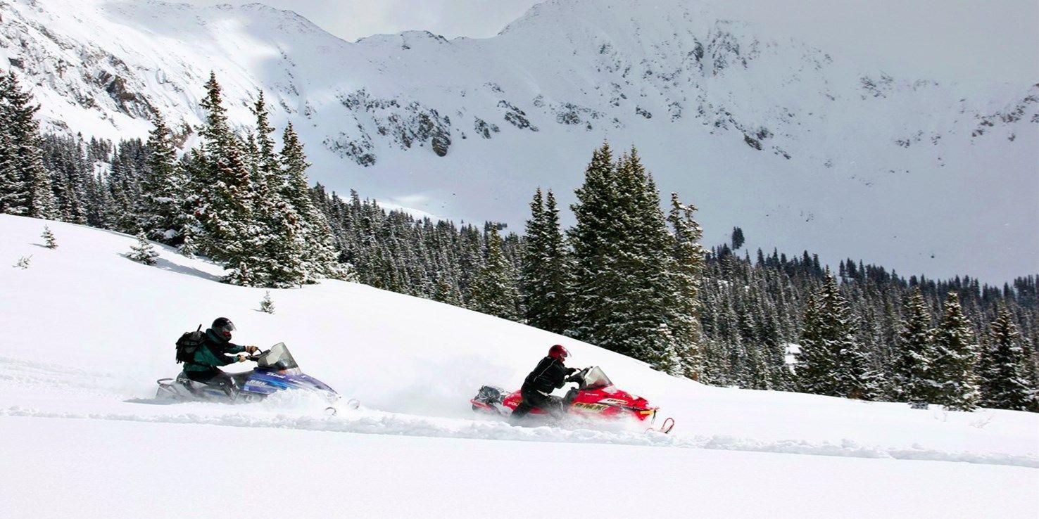 Denver attractions snowmobile tours ski season tours