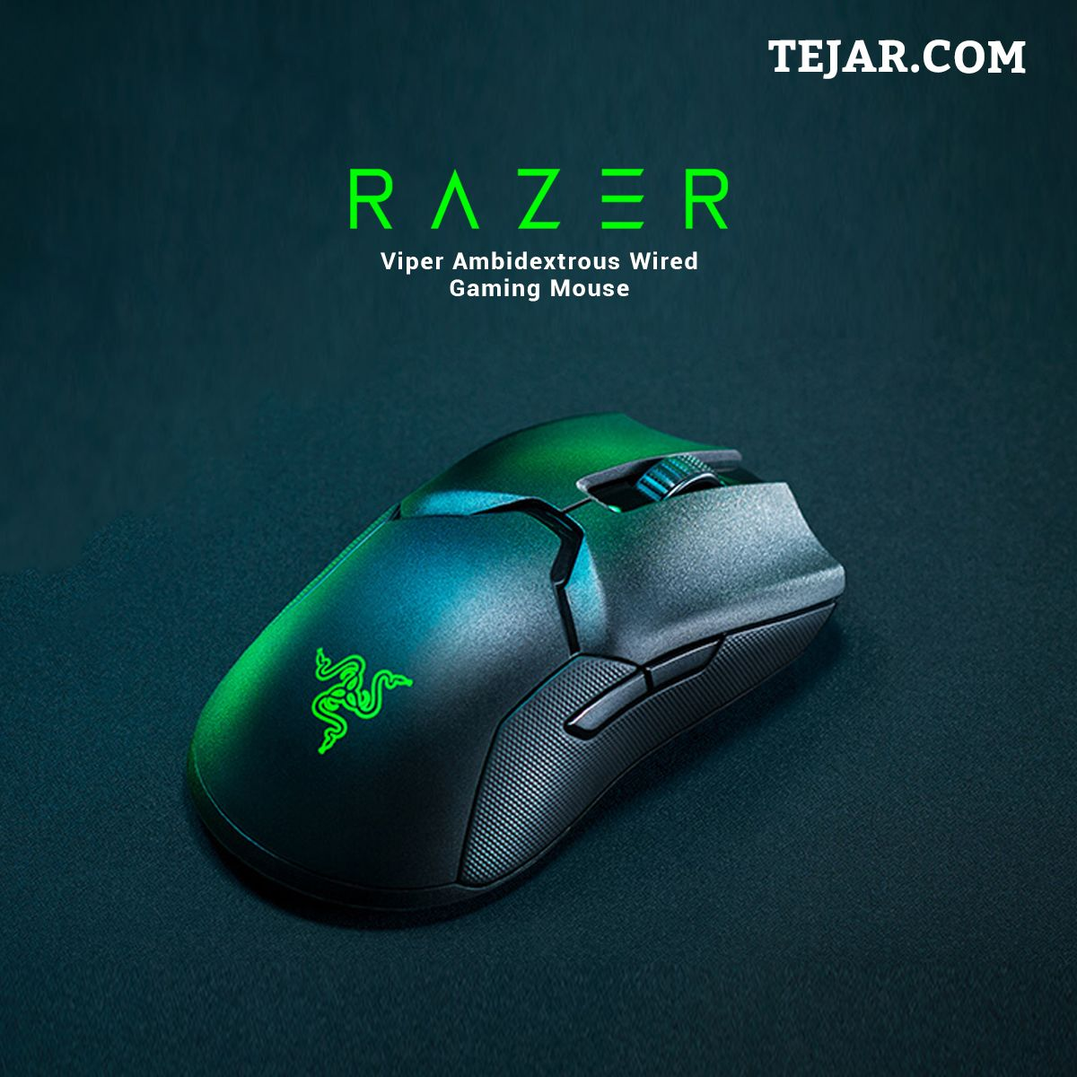 Razer Viper Ambidextrous Wired Gaming Mouse in 2020