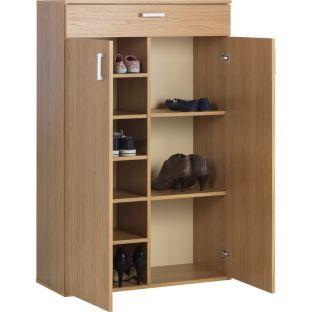 buy venetia boot storage cabinet oak effect at. Black Bedroom Furniture Sets. Home Design Ideas