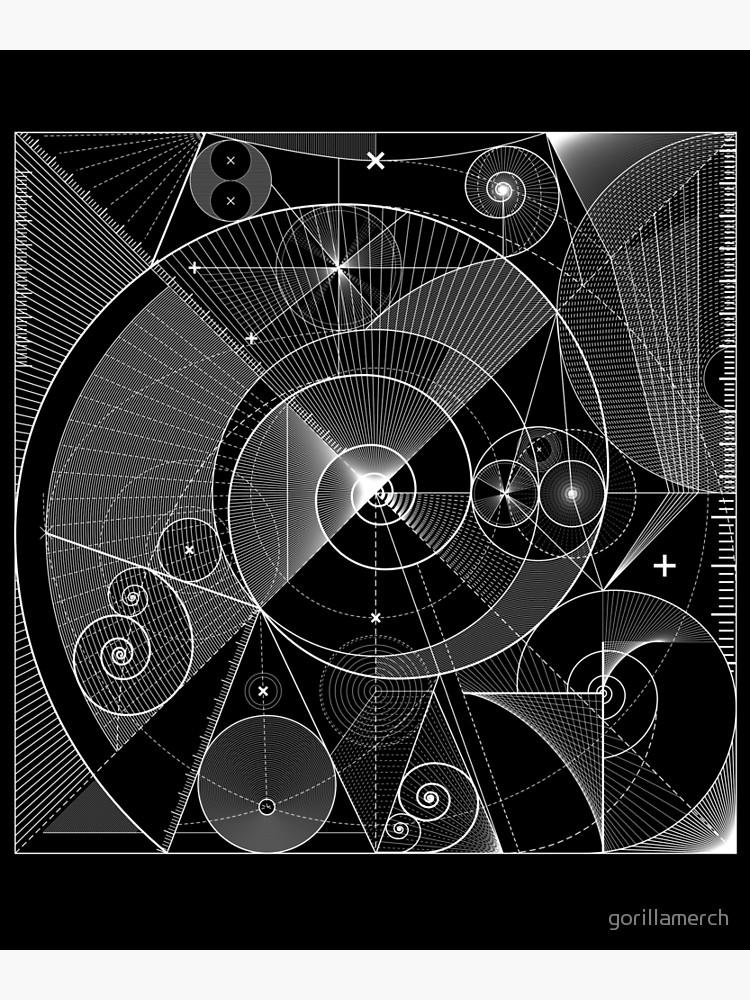Fibonacci Sequence, Spiral, Sacred Geometry Design ...