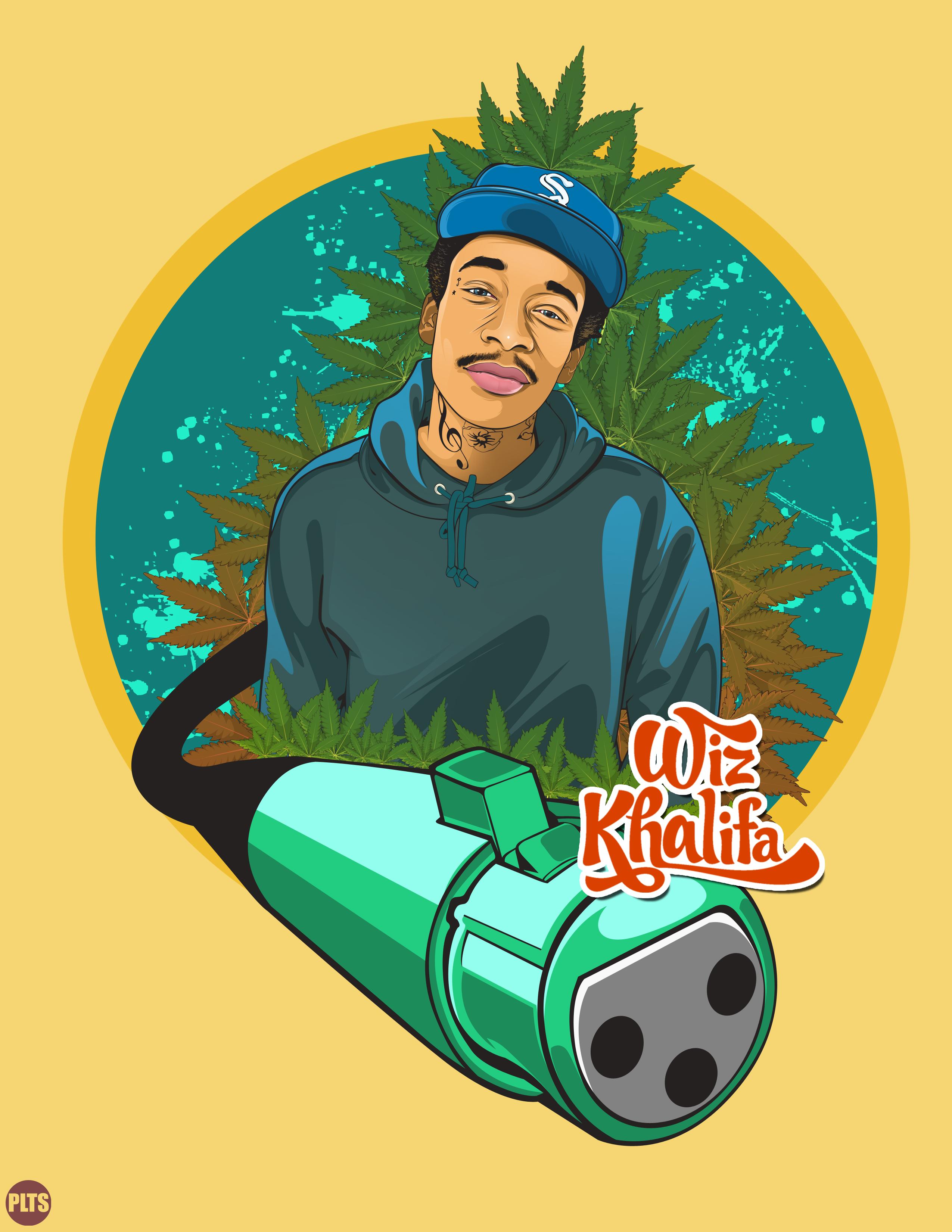 Wiz Khalifa My Love Desain Logo Tato Lengan Desain