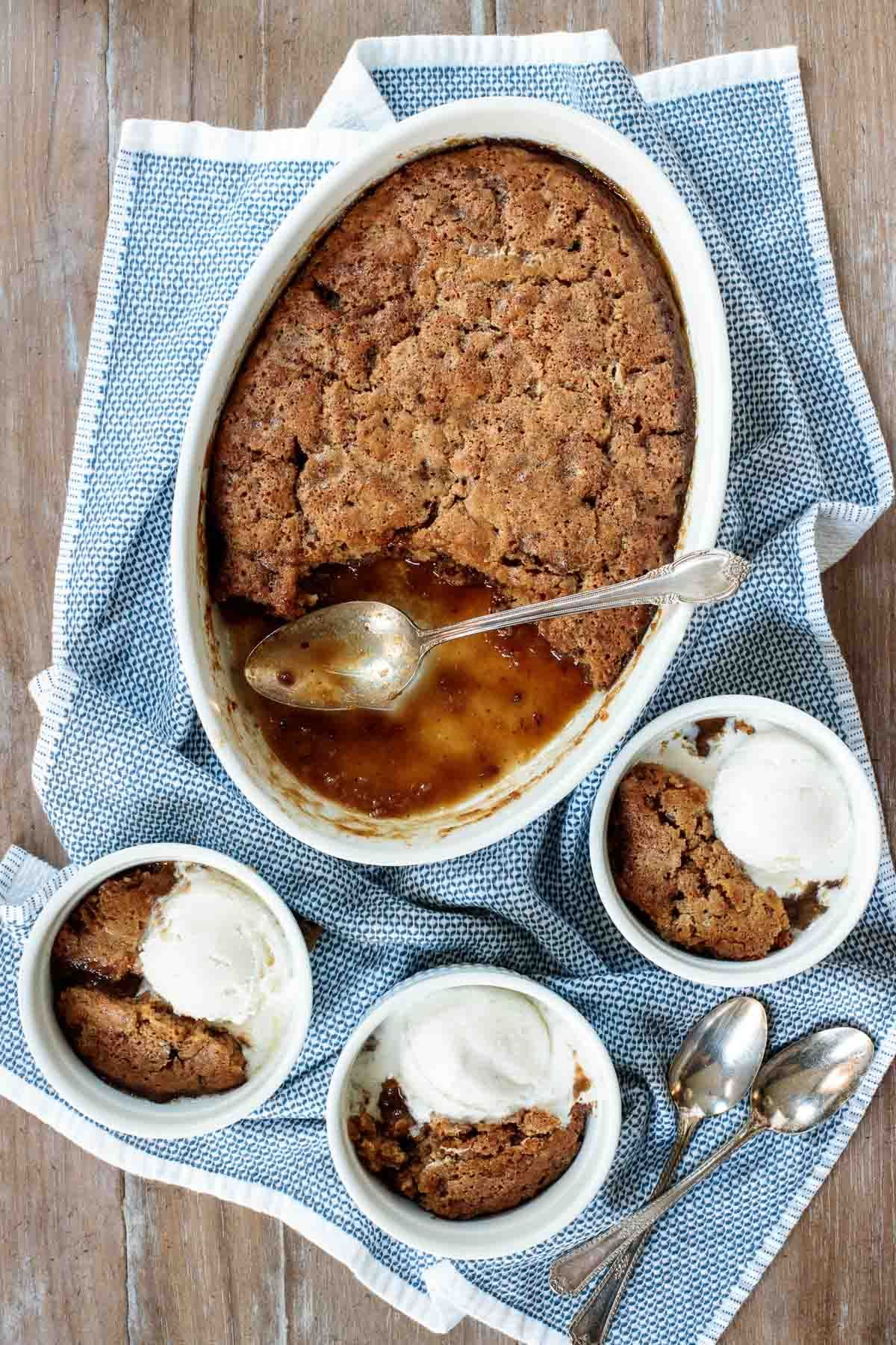 Ridiculously Easy Sticky Toffee Pudding