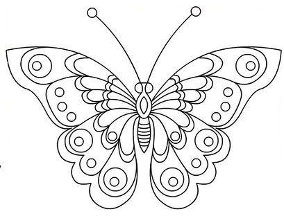 Papillon plastique dingue - Dessin art plastique a imprimer ...